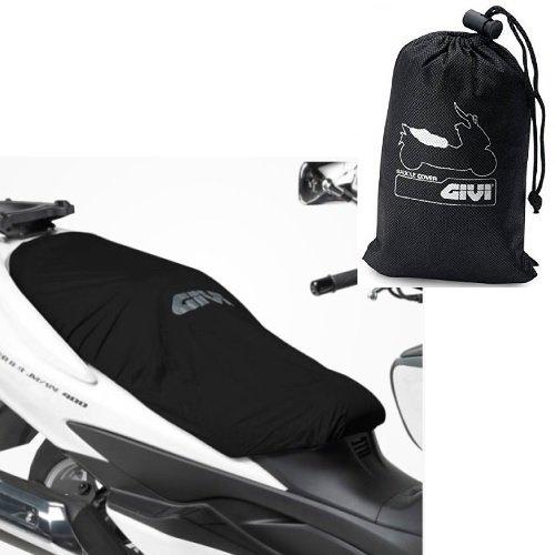 Voor Buell Lightning City XB9SX Total Black zadelhoes GIVI S210 universele waterdichte lengte 117 cm afdekking voor motor/scooter, elastische randen, zwart