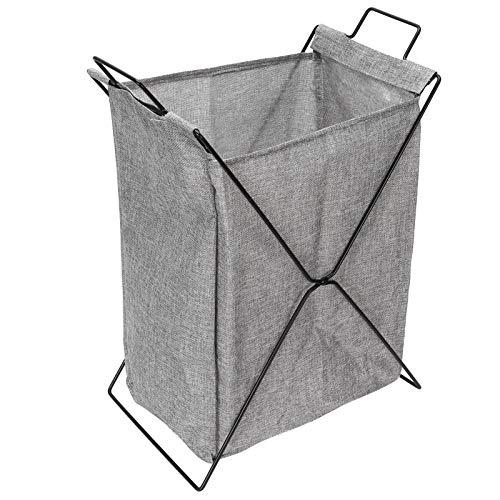 CUTULAMO Cesto De Ropa, Cesto De Ropa En Forma De X para Dormitorio para Sala De Estar