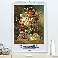 Blumenstuecke 2022 (Premium, hochwertiger DIN A2 Wandkalender 2022, Kunstdruck in Hochglanz): Die schoensten Blumenstraeusse der Kunst. (Monatskalender, 14 Seiten )