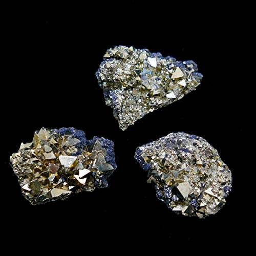 Pirita with Marcasite (Pack of 250g) Minerals and Crystals, Energy Beauty, Meditation, Spiritual Amulets