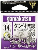 がまかつ(Gamakatsu) バラ ケン付流線(白) 14