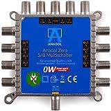 Bild des Produktes 'Anadol Zero Watt 5/8 - ECO - Stromloser Multischalter für 8 Teilnehmer - Geringe Stromaufnahme - 0 Watt Standby Mul'