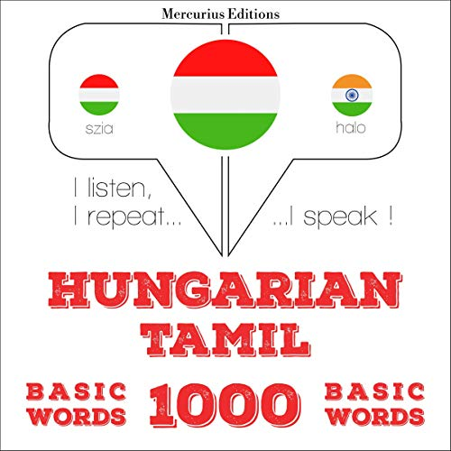 Hungarian – Tamil. 1000 basic words cover art
