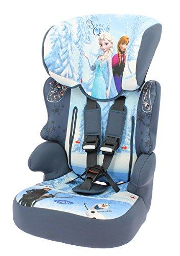 NANIA 291476 BeLine SP Frozen - Seggiolino auto 9-36 kg, colore: Blu