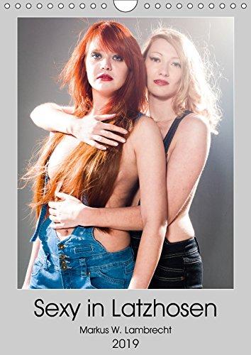 Sexy in Latzhosen (Wandkalender 2019 DIN A4 hoch): Zwei heiße Frauen in sexy Latzhosen! (Geburtstagskalender, 14 Seiten ) (CALVENDO Menschen)