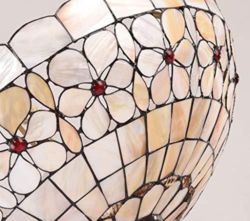 MJY Garrestaurant Haus der europäischen Stilstudie Tiffany Chandeliers Anti-künstlerische Kreativität Blumen-Perlmutt-Raumbeleuchtung.