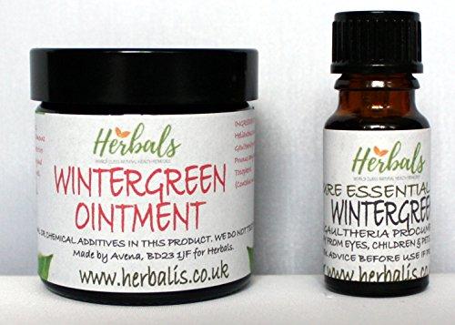 Wintergrün Salbe 60ml mit Wintergrünöl 10ml Rheuma Arthritis Ischias