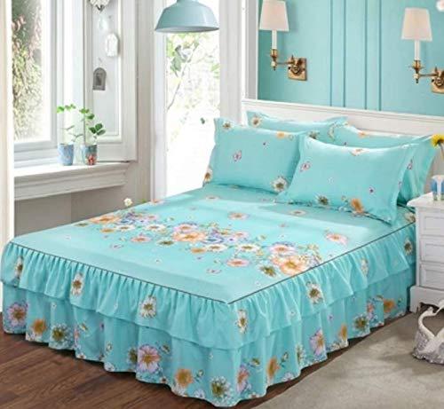 RKZM Bed Group Bed Cover Eendelig Bed Cover Slip Bescherming Cover Eendelig Matress Protector Tweepersoonsbed Matrassen Topper Dubbele 220X200Cm