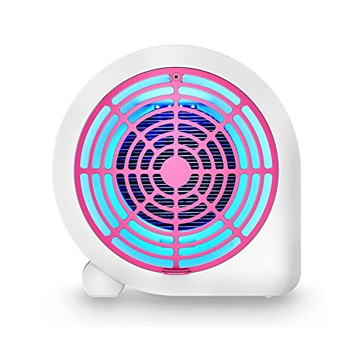 Gkingift Anti-muggenlamp, led-uv-muggenlamp, schok-muggenkiller, kooldioxide-muggenkiller, stil, stralingsvrij, automatische muggenbescherming, huishouden, muggenkiller, hoogte 23 cm l 23 cm