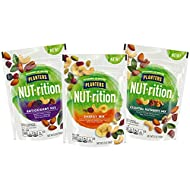 NUT-rition Trail Mix Variety Pack (Energy Mix, Antioxidant Mix, Essential Nutrients Mix), Pack of 3