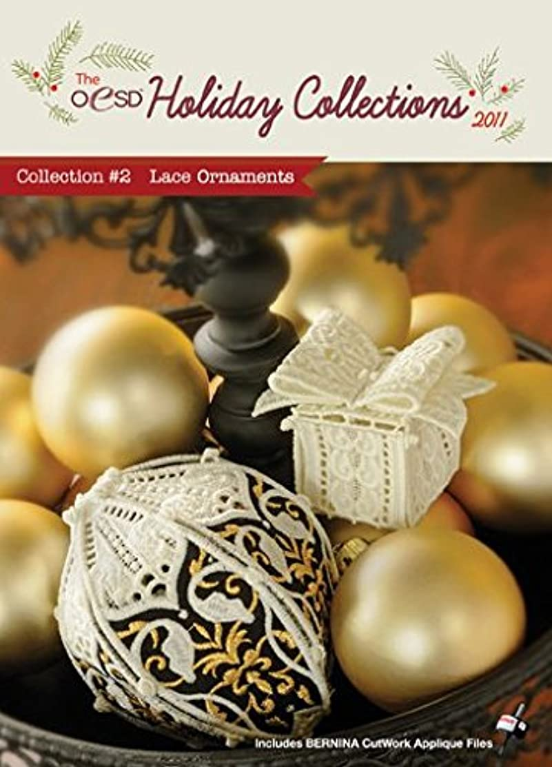 OESD Holiday Collection 2011 Embroidery Designs CD #2 Lace Ornaments
