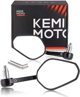 Motorcycle Bar End Mirrors, kemimoto 7/8