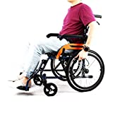 Wheelwing Aluminium Manual Travel Wheelchair Lightweight Fully Folding Attendant Room Saveing