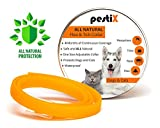 All Natural Flea Prevention Collar for Dogs and Cats |...