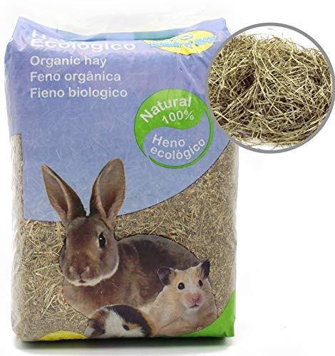 BPS Heno Natural Hierba Fresca para Mascotas Pequeñas 2 Modelo Elegir (Heno...