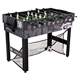 Triumph 48' MLS Trifecta 3-in-1 Foosball Soccer Table Includes Three Different Ways to Play
