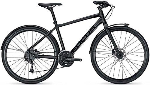 Trekking Bike Urban Focus PLANET LITE PLUS 27G 28' Herren, Rahmenhöhen:50;Farben:Magicblackmatt