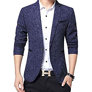 FOMANSH ジャケット メンズ ビジネス 2つボタン 西洋式 ブレザー スーツ生地 礼服