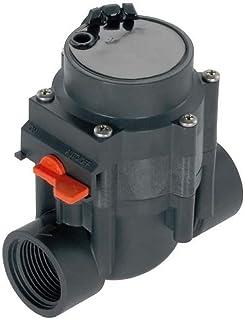 Vanne d'irrigation GARDENA 24 V: commande d'irrigation automatique, filtre fin auto-nettoyage, l'ouverture / fermeture man...