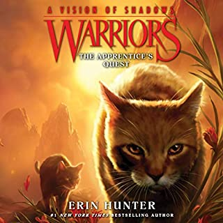 Warriors: A Vision of Shadows, Book 1: The Apprentice's Quest cover art