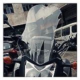 WFSH Lunas y deflectores de Viento para Moto Deflectores de Parabrisas de Motocicleta, Motorbike...