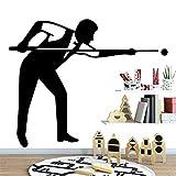 Mesa De Billar De Nuevo Diseño, Decoración Del Hogar, Pegatinas De Vinilo Para Pared, Pegatinas Para Nevera, Accesorios Decorativos, 58 Cm X 66 Cm