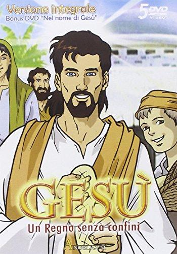 Locandina Gesu' - Un Regno Senza Confini  (Versione Integrale) / Nel Nome Di Gesu' (5 Dvd)