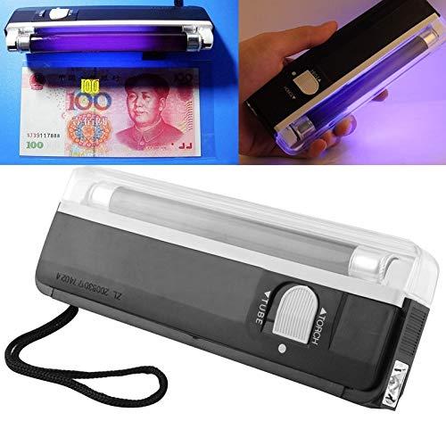 Warmhome gereedschap, robuust en duurzaam, uv-licht, lamp en led-zaklamp, controle van veiligheidskenmerken op bankbiljetten en paspoort buitenshuis.