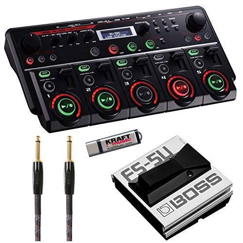 Find Bargain BOSS RC505 Loopstation with FS5U Footswitch, Cable, and Flash drive