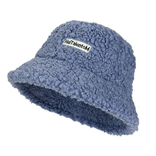 Sombrero de pescador de lana para mujer, de invierno, de fieltro, cálido, de lana, para invierno, clásico, de lana, plegable, talla única, elegante, para viajes, senderismo