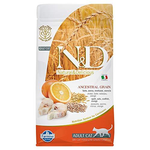 Farmina N&D getreidearm Katze Kabeljau & Orange ADULT 1,5 KG (1,5 kg)