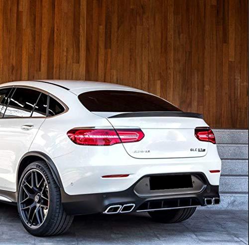 Spoiler ABS GLC Coupe GLC43 GLC260 Spoiler de alerón Trasero para Mercedes - Benz GLC Class Coupe G