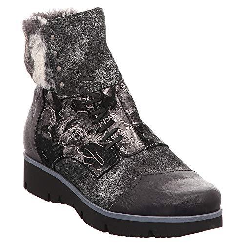 Charme | Stiefelette | Boots - Schwarz, Farbe:Schwarz, Größe:38
