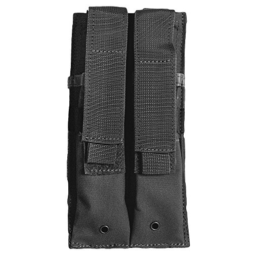 Fox Outdoor Dual MP 5 Mag Pouch Black