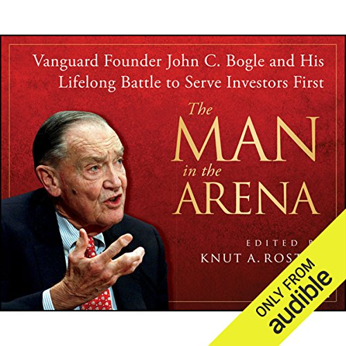 The Man in the Arena audiobook cover art