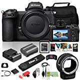 Nikon Z 6II Mirrorless Digital Camera 24.5MP (Body Only) (1659) USA Model + FTZ Mount + 64GB XQD Card + Corel Photo Software + Case + HDMI Cable + Cleaning Set + More