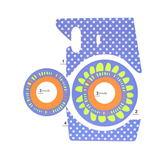 Best Bargain Ngaantyun Sunflowers Mini Instant Camera Sticker for Fujifilm Instax Mini 8 Mini 9 (New...