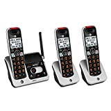 AT&T CRL82312 DECT 6.0 Phone Answering System with Caller ID/Call Waiting, 3 Cordless