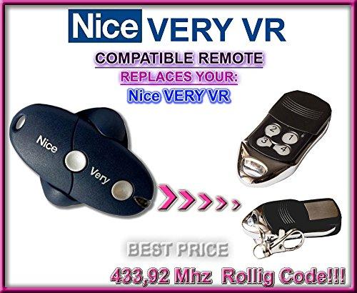 Nice VERY VR kompatibel handsender, ersatz sender, 433.92Mhz rolling code. Top Qualität ersatzgerät!!!