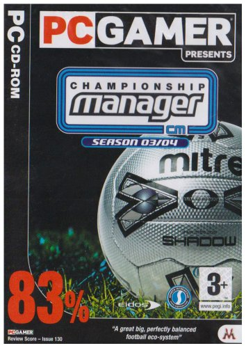 Photo of Championship Manager 03/04 (PC Gamer) (PC)