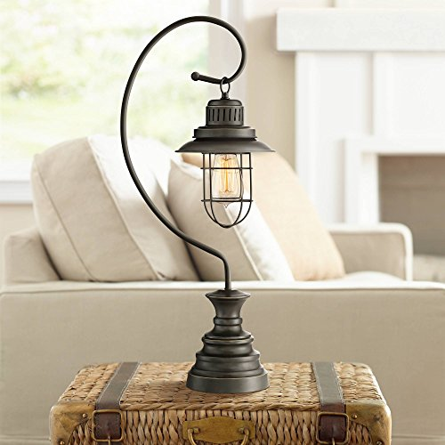 Ulysses Industrial Desk Table Lamp Dark Oil Rubbed Bronze...