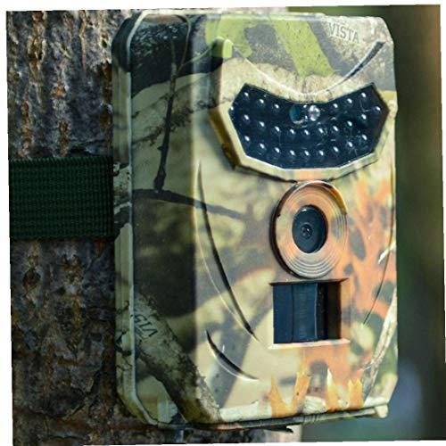 MICHAELA BLAKE Jagd-Hinterkamera, HD 1080P Deer Feeder-Nachtsicht-Aufnahme LEDs Jagd Foto Fallen Wildwasserdichtes Wildkamera für wild lebende Tiere Überwachung