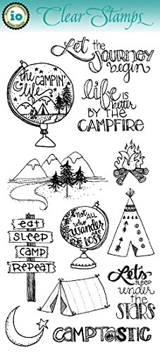 Impression Obsession IO Clear Stamp Set - Better by The Campfire - WP767