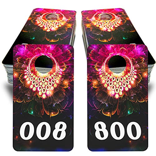 """Reverse Mirrored Image Number Card for Live Sales and Live Number Tags,Cloth Locker Luggage Tags 1-100,1.6""""x 2.8"""" Normal,Exquisite and Beautiful (Consecutive Numbers Card 1-100)"""
