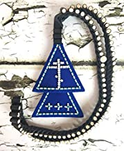 Russian Orthodox Old Believers lestovka 103 steps - Rosary leather - Orthodox prayer rope - prayer beads Crucifix - chetki