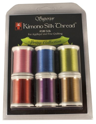 Kimono Silk Thread - Spring Collection