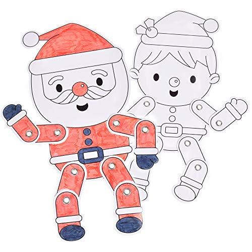 KandyToys TY4374 Bastelset für Kinder, zum Aufhängen, 2 verschiedene Designs,...