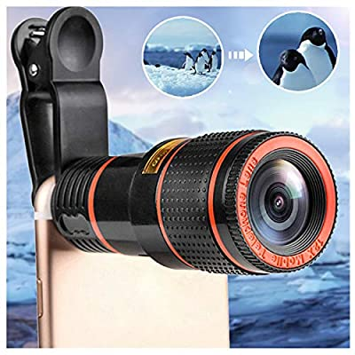 HD 12x Optical Zoom Camera Telescope Lens with ...