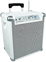 ION Audio Block Rocker BT White 2013 Model | 50 Hours Battery Portable Bluetooth speaker system with microphone