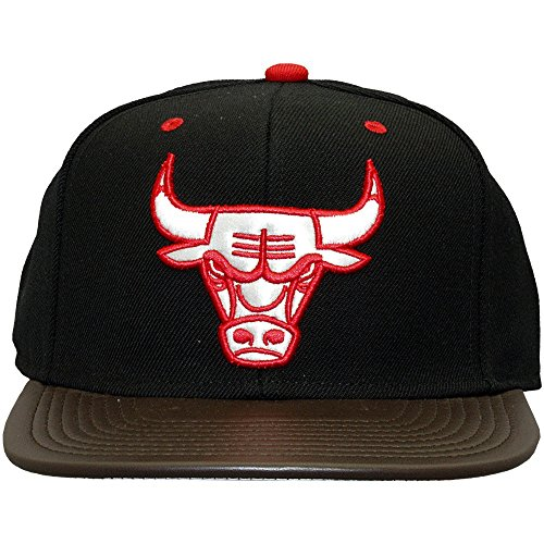 Mitchell And Ness - Casquette Snapback Homme Chicago Bulls Legacy - Black